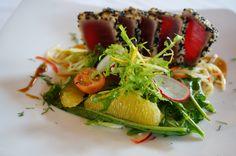Tuna Tataki at Mase Kitchen & Wine Bar Seminyak...