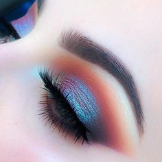 Iridescent sunset eye