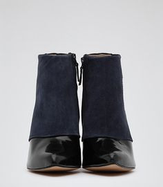 dionne two tone ankle boot