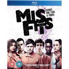 Misfits Series 1-3 - Blu Ray