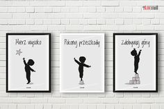 plakaty do pokoju chłopca motywacyjne alovestudio blog Creative Area, Kids Room Paint, English Games, Kids Decor, Home Decor, Inspiration Wall, Diy Scrapbook, Man Humor, Kids And Parenting