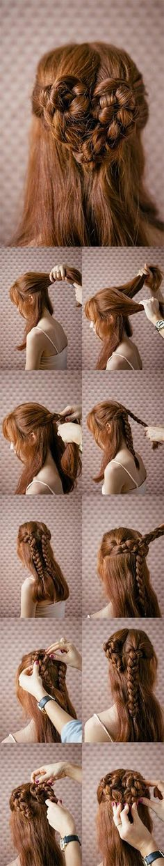 Easy Valentines Day Hairstyle Tutorials 2014 For Beginners Learners 3 Easy Valentines Day Hairstyle Tutorials 2014 For Beginners & Learners