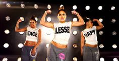 JLo I Luh Ya Papi music video Blessed tee