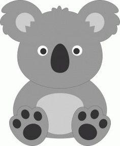 Resultado de imagem para lembrancinha eva de coala ornitorrinco