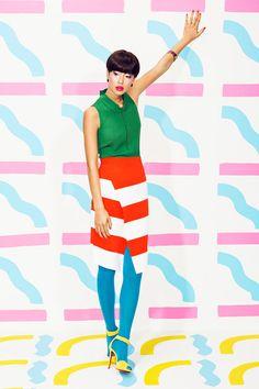 "Fotografía editorial, ""Pop Rocks"", Erin D. Garcia, Juco photo, Pop Art colors"