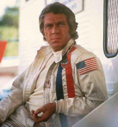 Steve McQueen as Michael Delaney, 'Le Mans' 1971 Steve Mcqueen Le Mans, Steve Mcqueen Style, Jackie Stewart, Steeve Mcqueen, Ali Macgraw, Film Le, Joe Cool, Queen Photos, American Legend