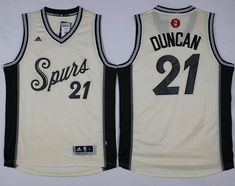937b12274ac Spurs  21 Tim Duncan Cream 2015-2016 Christmas Day Stitched NBA Jersey  Basketball Pictures