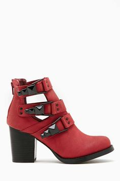 Shoe Cult Impact Boot - Red