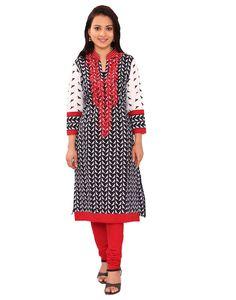 100% Cotton Hand Printed kurta Embroidery kurti  jaipuri ethnic  #ChhipaPrints #StraightlongKurta