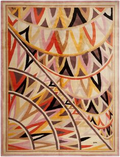 Vintage French Rug by Emilio Pucci