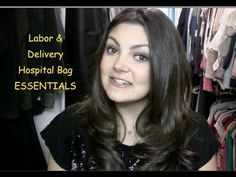 My Hospital Bag Things I ACTUALLY Used! - YouTube