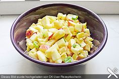 Apfel - Curry - Salat