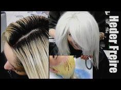 Descoloração Global - Loiro Platinado - Heder Freire - YouTube Dreadlocks, Hair Styles, Youtube, Beautiful, Beauty, Collection, Platinum Blonde, Lights, Finger Nails