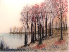 Laurene Howell, Fused Glass Artist - Glass Landscapes