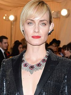 """Amber Valletta, a model-turned-actress, has suffered from addiction """"for as long as I can remember."""" She got help when she was 25, and has been sober for 15 years! #celebrity #drugs #alcohol"""