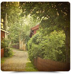 Little seaside town called Loviisa in Finland.  http://hassinen.blogspot.fi/