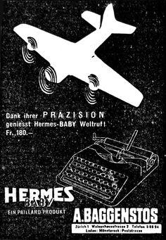 Hermes Baby *Typewriter Workshop*  http://www.etsy.com/shop/typewriterwshop