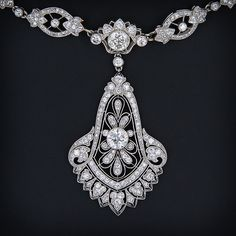 Art Deco Diamond Necklace, Cartier, circa 1929.