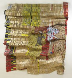 """Oasis by El Anatsui, on view @ NCMA March 18-July 29 in """"El Anatsui: When I Last Wrote to You about Africa"""""""