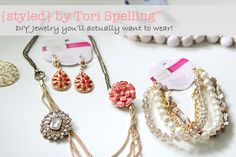 Get your cute back with this great DIY jewelry
