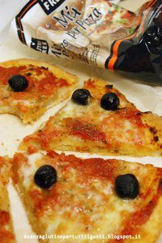 Pizza senza glutine con Mix per Pizza Nutrifree per il 100% Gluten Free (fri)day!