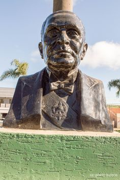 Busto do Presidente Castelo Branco na Praça Domingos Theodorico de Freitas