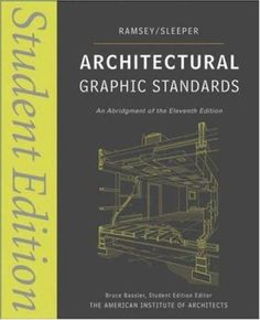 Architectural graphic standards : student edition