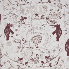 Highwire wallpaper by Daniel Heath in grape colour