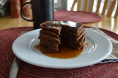 Oven Baked Pumpkin Spice Pancakes from 85 Amazing AIP Breakfasts - Gutsy By Nature - uses sweet potato flour Pumpkin Spice Pancakes, Pancakes And Waffles, Pumpkin Puree, Paleo Pancakes, Potato Pancakes, Sweet Potato Flour, Sample Recipe, Baked Pumpkin, Oven Baked