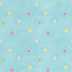 "Found it at Wayfair - Kids World Sprinkles 33' x 20.5"" Polka Dot Wallpaper"
