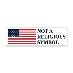 I'm a Christian and I love America, but the two are not synonymous.  We do damage to both when we pretend otherwise.