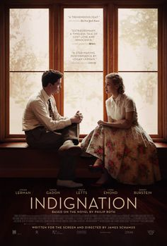 Indignation - a summer movie grown-ups will enjoy. #indignation win a $50 gift card to see the movie