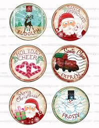 free christmas bottle cap images to print - Google Search