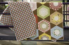 Boho Honeycomb Hexagon Quilt
