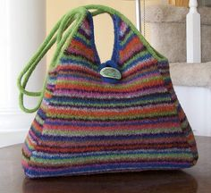 Interweave Felted Purse by pippspurses, via Flickr