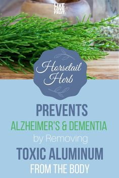 Horsetail herb is a powerful plant that prevents Alzheimer's and dementia by removing heavy metals from the body. Here is how to use horsetail herb. Home Remedies For Colds For Babies, Cold Home Remedies, Home Remedies For Hair, Natural Health Remedies, Herbal Remedies, Thing 1, Herbal Magic, Alzheimer's And Dementia, Herbs
