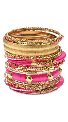 Engagement & Wedding Able 2.8 L Bollywood 6 Bangles Bracelet Indian Wedding Jewellery Chura Gold Tone A2 For Fast Shipping