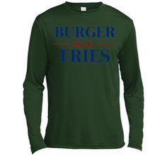 Burger Fries 2016 Funny Election T-Shirt T-Shirt