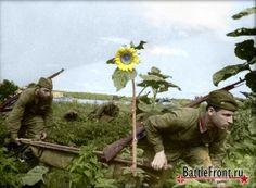 Battlefront.ru - Красная Армия (чёрно-белые фотографии в цвете)