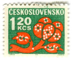 stamps. _Checoslovaquia