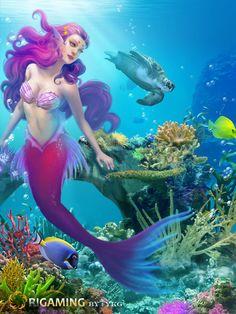 mermaid project by YKg.deviantart.com on @deviantART