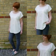 Draft a simple Kimono Tee: An old project revisited.... - Miss P............