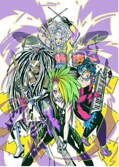 Ross Campbell reimagines the Misfits for the new Jem and the Holigrams comic!
