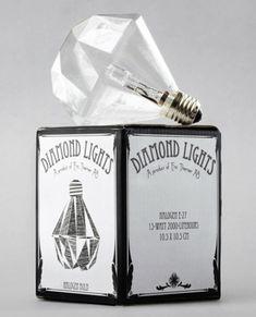 Eric Therner's Diamond lightbulbs