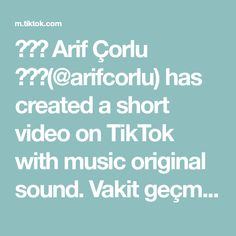 ✨💥🔥 Arif Çorlu 🔥💥✨(@arifcorlu) has created a short video on TikTok with music original sound. Vakit geçmiyor açlıktan bu 😅😅🙈 #arifcorlu #trend #foryou #powerAwesome #tiktok #fyp Good Energy, New You, The Originals, Music, Positivity, Good Things, Let It Be, Musica, Musik