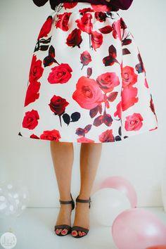 Rose Midi Skirt – Mindy Mae's Market