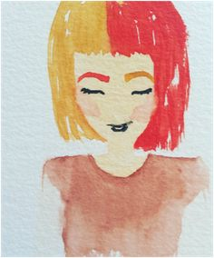 Watercolor Sketch by Brenna Porsch