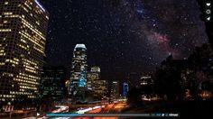 Манхеттен в объективе Cameron Michaelsфото видео Яркое - Beautiful video imagines cities without light pollution