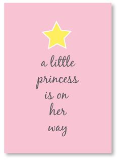 Princess baby shower invite