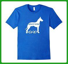Mens Great Dane Dad T Shirt Medium Royal Blue - Relatives and family shirts (*Amazon Partner-Link)